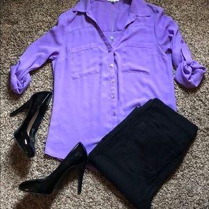 Bright Purple Portofino Shirt